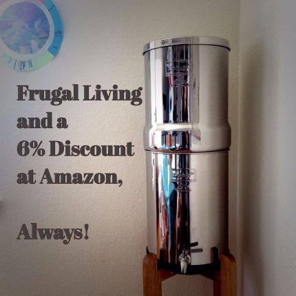 Living on a budget. 4 steps to get a discount without a coupon code on Amazon, always. Cash Backs, Berkey Water Filter 10% Discount.